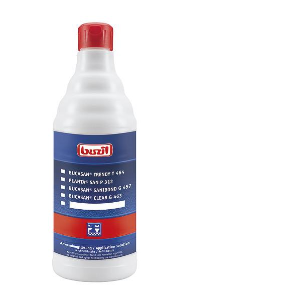 Empty bottle, spray application for sanitary area