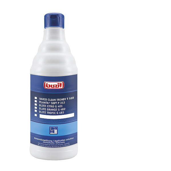 Empty bottle, spray application for surfaces