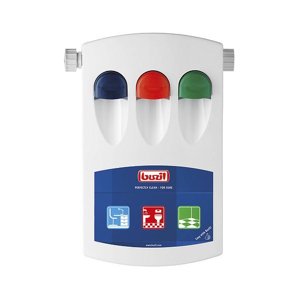 Dosing system 3 products, 2 x 4 l/min & 1 x 14 l/min